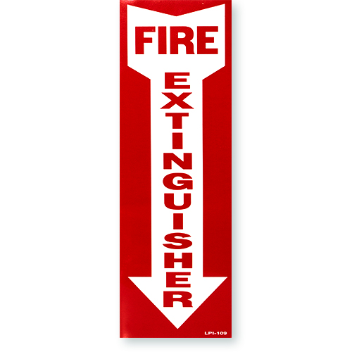 """4""""x18"""" Vinyl Sign with Self Adhesive"""
