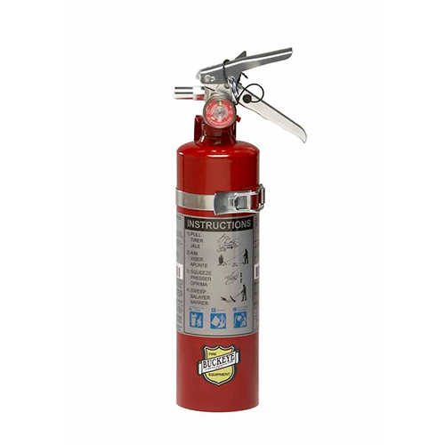 Buckeye 2.5lb Fire Extinguisher with Vehicle Bracket