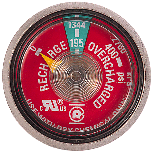 Ul Listed Dry Chemical Gauge Lpi Fire