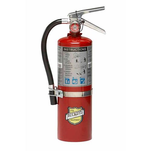 Buckeye 5lb Fire Extinguisher with Vehicle Bracket