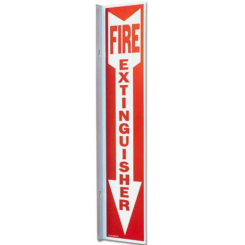 "4"" x 18"" Aluminum 90 Degree Angle Sign"