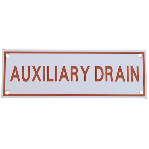 Auxiliary Drain