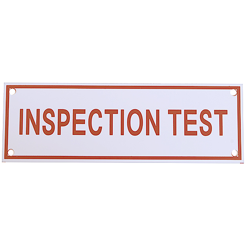 Inspection Test