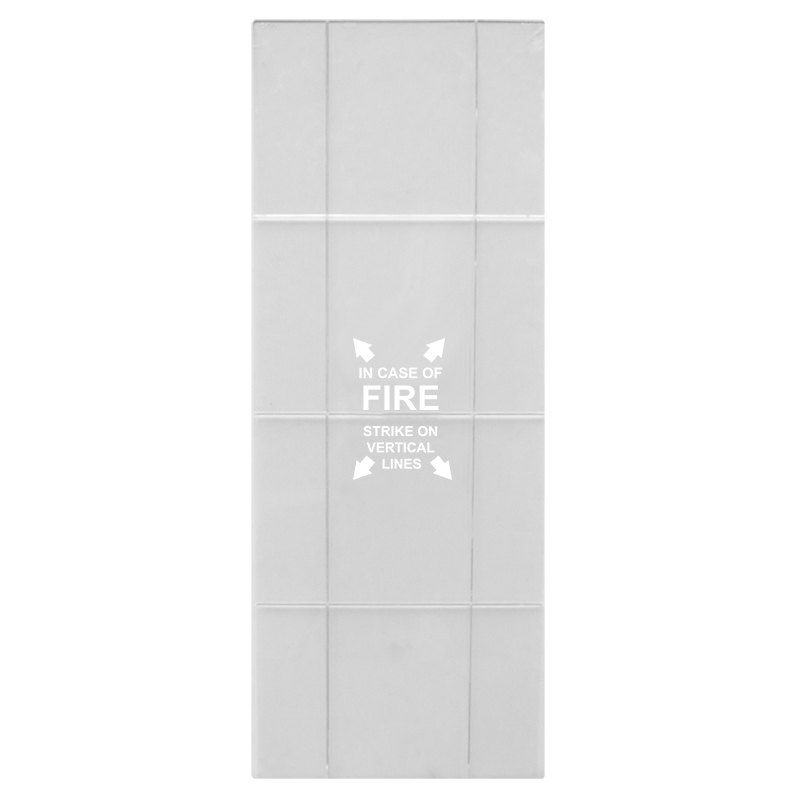 Indoor / Outdoor Metal Fire Extinguisher Cabinet Replacement Panel