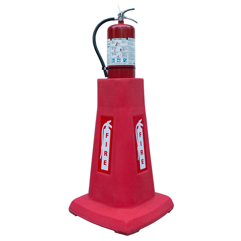 Portable & Stackable Fire Extinguisher Stand