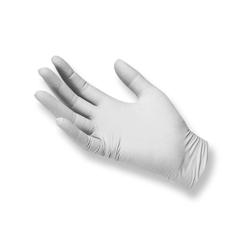 Disposable Latex Gloves - Large