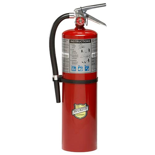 Buckeye 10lb Fire Extinguisher with Wall Hook