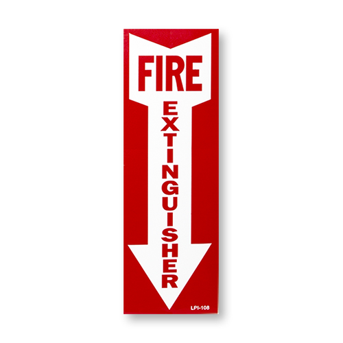 """4""""x12"""" Vinyl Sign with Self Adhesive"""