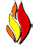 LPI Fire Logo Flame