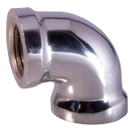 chrome pipe fittings