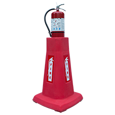 Portable Stackable Fire Extinguisher Stand