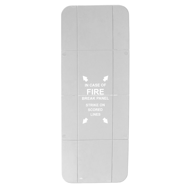 Indoor / Outdoor Fire Extinguisher Cabinet Replacement Panel